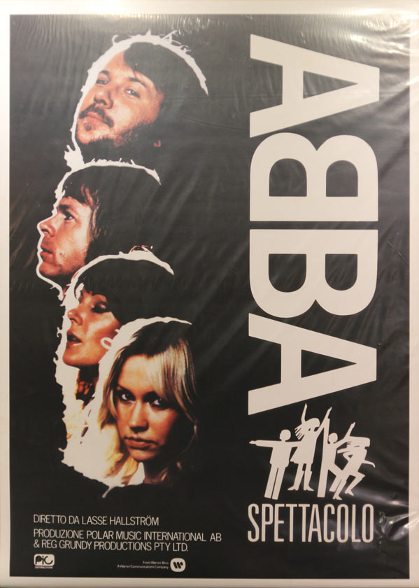 ABBAポスター