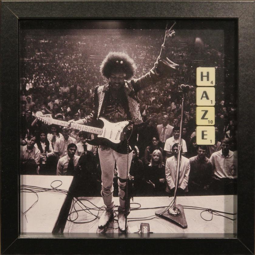 Jimi Hendrix 壁掛けインテリア